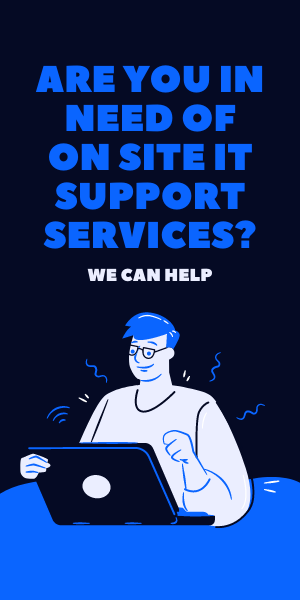 On site IT support services available