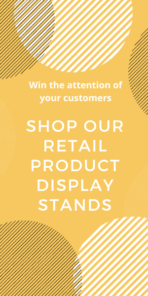 retail product display stands available